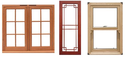 Mediniai langai kainos